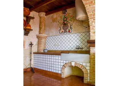 Decoraci n de chimeneas columnas portales for Fregaderos de barro