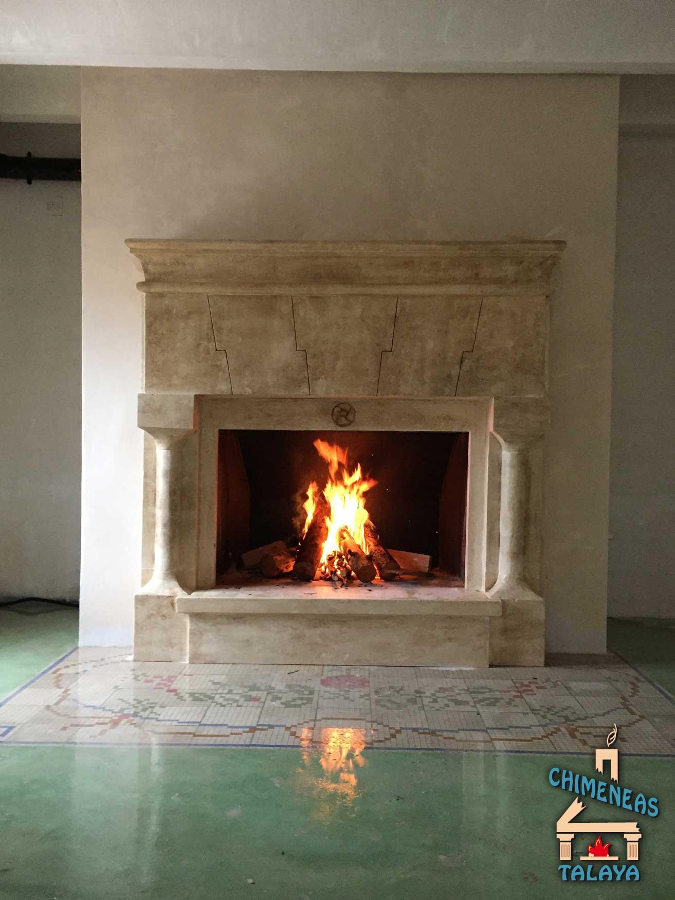 Chimeneas abiertas sistemas de calefacci n biomasa - Chimenea para calefaccion ...