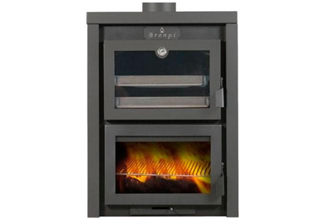 Estufas con horno tienda online chimeneas talaya - Estufa lena con horno ...